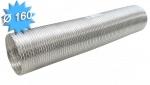Gaine alu semi rigide diamètre 160 mm longueur de 3 mètres