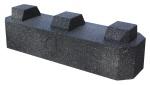 Réhausse pour support au sol anti-vibratiles - Rubber Foot 600