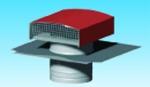 Chapeau de toiture métallique tuile diamètre 200 mm