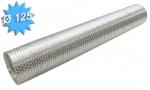 Gaine alu semi rigide diamètre 125 mm longueur de 3 mètres