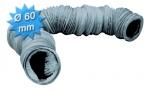 Gaine PVC souple diamètre 60 mm longueur de 6 mètres