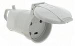 Fiche femelle 20A 2P+T Plexo avec poignée