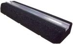 Support au sol anti-vibratiles - Mini Rubber Foot 500 x 130 x 50 mm - Lot de 2