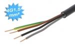 Cable électrique R2V 4G1.5 mm² - Au mètre