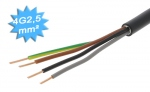 Cable électrique R2V 4G2.5 mm² - Au mètre