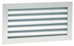 Grille de reprise - Avec filtres - Aluminium - Blanc - 400 x 200 - Atlantic 528524
