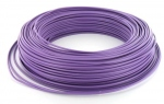 Fil rigide H07VU 1 x 2.5 mm² - Violet - Couronne de 100 mètres