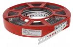 Bandes perforées de 12 mm x 0,8 mm en bobine de 10 mètres
