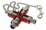 Clé en croix 9 empreintes