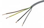 Cable Souple H05VV-F - 4G0.75 mm² - Gris - Couronne de 100 mètres