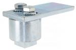 Pivot Haut - A roulement à billes - Pour portail à battants  - Diamètre 50 mm - 400 kg