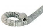 Gaine PVC - Souple - Diamètre 80 mm - 6 Mètres - Renforcée - Atlantic 423041