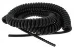 Cable spiralé 4 x 0.75 mm longueur 6 mètres