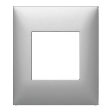 Plaque 1 poste Arnould Espace Evolution Aluminium