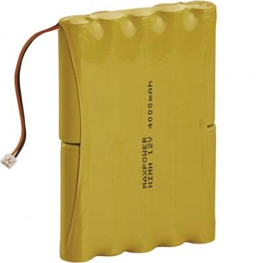 Batterie centrale - Pour alarme Radio - 4AH - Hager BATNIMH4