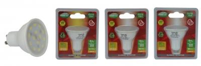 Ampoule à LED - Vision-EL - GU10 - 6W - 4000K - 120D - Blister