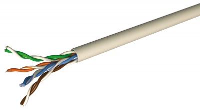 Cable Réseau - Catégorie 5 - FTP - PVC - Couronne de 100 mètres