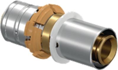 Manchon de transition à sertir - Pex/multicouche - Diamètre 16 mm - Uponor 1085289
