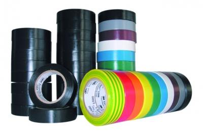 Ruban adhésif vinyle - 3M TEMFLEX 1500 - Multicolore - 15 mm x 10 Mètres - 3M 80470