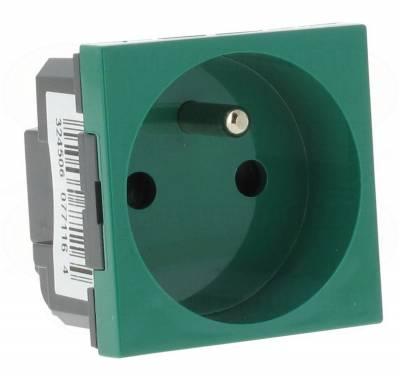 prise de courant 2p t legrand mosaic vert antimicrobien 6. Black Bedroom Furniture Sets. Home Design Ideas