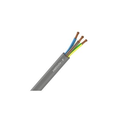 Cable Souple H05VV-F - 3G1 mm² - Gris - Couronne de 50 mètres