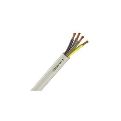 Cable Souple H05VV-F - 4G0.75 mm² - Blanc - Couronne de 100 mètres