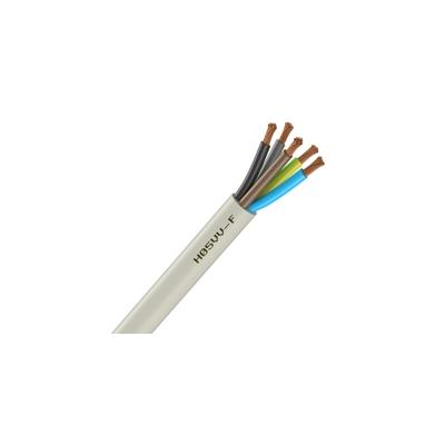 Cable souple h05vv f 5g2 5 mm blanc couronne de 100 m - Cable 5g2 5 ...