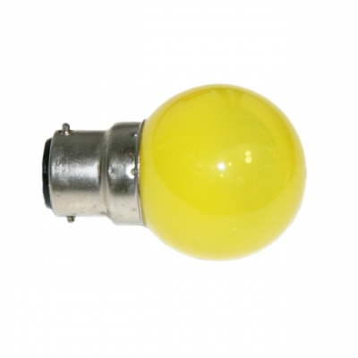 Ampoule à LED - Culot B22 - Jaune - Festilight 65682-1PC