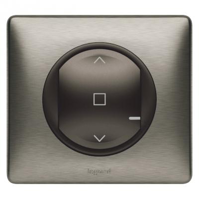 Interrupteur connecté pour volets roulant filaire - Graphite - Legrand Céliane 064896