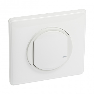 Commande Sans Fil - On / Off - Blanc - Céliane with Netatmo - Legrand 067723