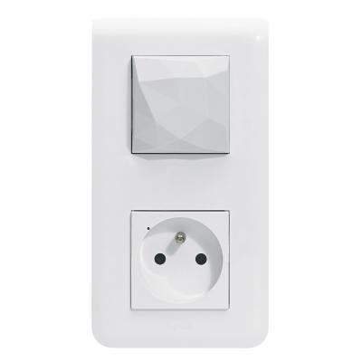 Pack démarrage installation connectée - Blanc - Legrand Mosaic Netatmo 077700