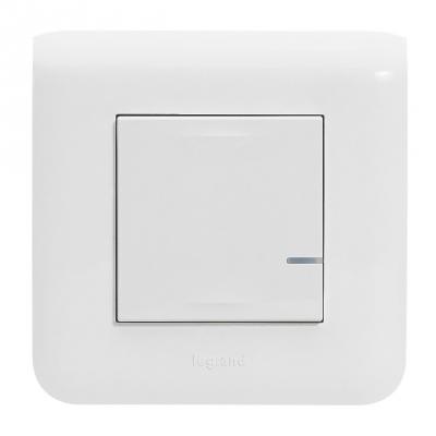 Commande Filaire connecté - Option Variation - Blanc - Mosaic with Netatmo - Legrand 077701