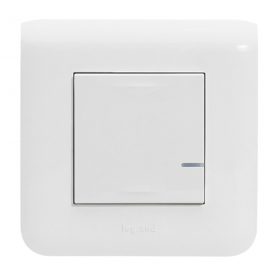 Commande Sans Fil - On / Off - Blanc - Mosaic with Netatmo - Legrand 077723