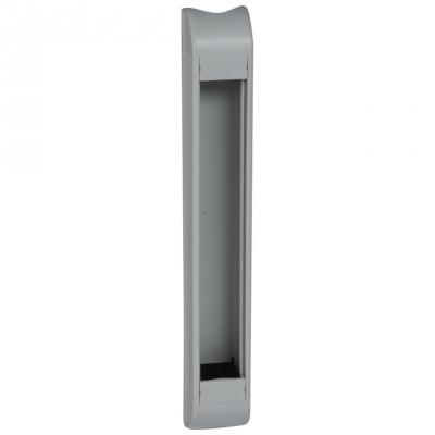 Bloc colonne - Vide - A équiper - 12 Modules - 415 mm - Aluminium - Legrand 030780