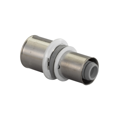 Manchon à sertir - Réduit - Uponor - Composite - 25 vers 20 mm - Pour tube multicouche - Uponor 1022742