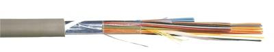 Cable Téléphone SYT1NUM - 10 paires AWG20 - Gris - Couronne de 100 Mètres