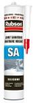 Mastic silicone - Spécial sanitaire - Rubson SA - Translucide - Cartouche de 300ml - Rubson 165173