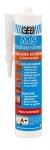 Mastic silicone d'étanchéité sanitaire Geb MS - Cartouche de 280 ml - Translucide