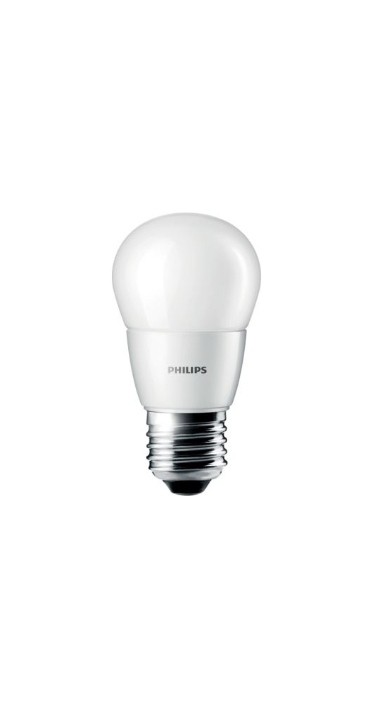 ampoule led philips corepro ledluster e27 3w 2700k. Black Bedroom Furniture Sets. Home Design Ideas