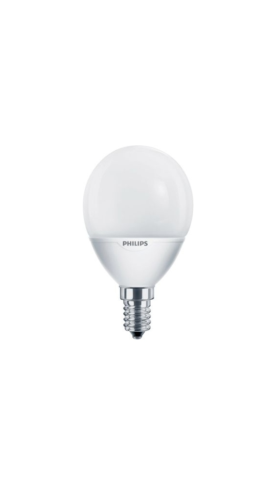 ampoule fluocompacte philips softone lustre e14 7w 2. Black Bedroom Furniture Sets. Home Design Ideas