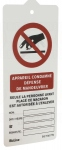 Affichettes PP consignation 170x75mm lot de 3