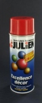Peinture en bombe de 400 ml ROUGE FEU RAL3000