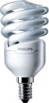Ampoule Fluocompacte Philips Tornado - E14 - 12W - 2700K - 230V - T2 - Spirale