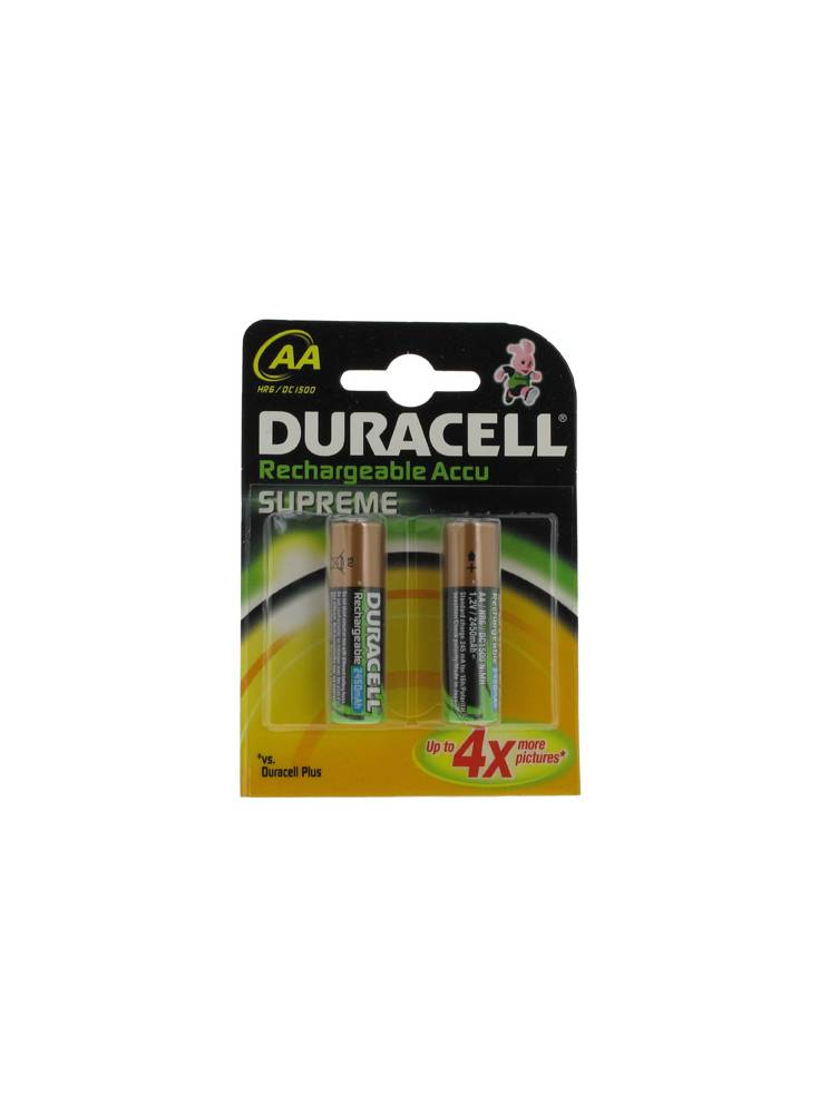 Pile rechargeable duracell hr6 aa dc 1500 2450 mah 10 - Pile rechargeable aa ...