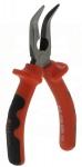 Pince à becs longs demi-rond coudés isolée 1000V longueur 160mm