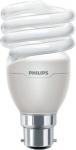 Ampoule Fluocompacte Philips Tornado - B22 - 20W - 2700K - 230V - T2 - Spirale