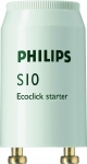 Starter S10 - 4-65 Watts pour tube fluorescent - Philips 697691