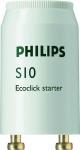 Starter S10 - 4-65 Watts pour tube fluorescent - Philips 697691