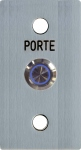 Bouton Poussoir - AV - 40 x 100 - SS CART - 12 NO/NF N - Urmet BA/OF