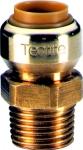 Manchon instantané - Tube Cuivre - Femelle 18 mm / Mâle à visser 20 x 27 mm - Comap Tectite